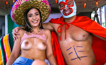 Hot Mexicana To Celebrate With BangBus