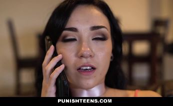 Kylie Jay gets a rough hard fuck from a masked man