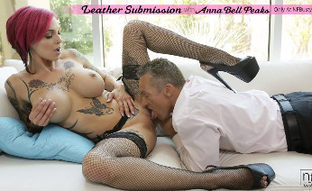 Anna takes charge of her mans pleasure