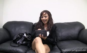 Backroom casting couch delaney ass fucked and creampied on tape