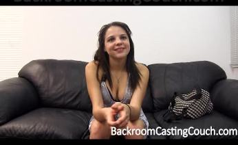 Lydia on Backroom Casting Couch