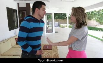 Summer Lace gets banged by her step brother