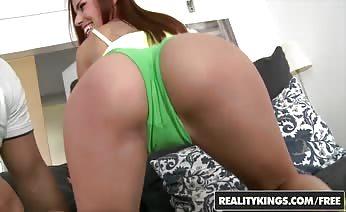 Sweet Ass Takes Huge Dick