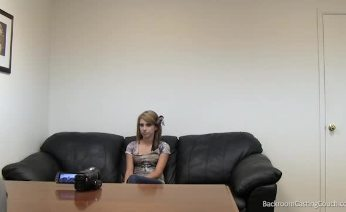 Lauren on BackroomCasting  Couch