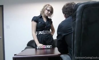 Lindsey on Backroom Casting Couch