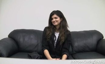 Savannah on Backroom Casting Couch