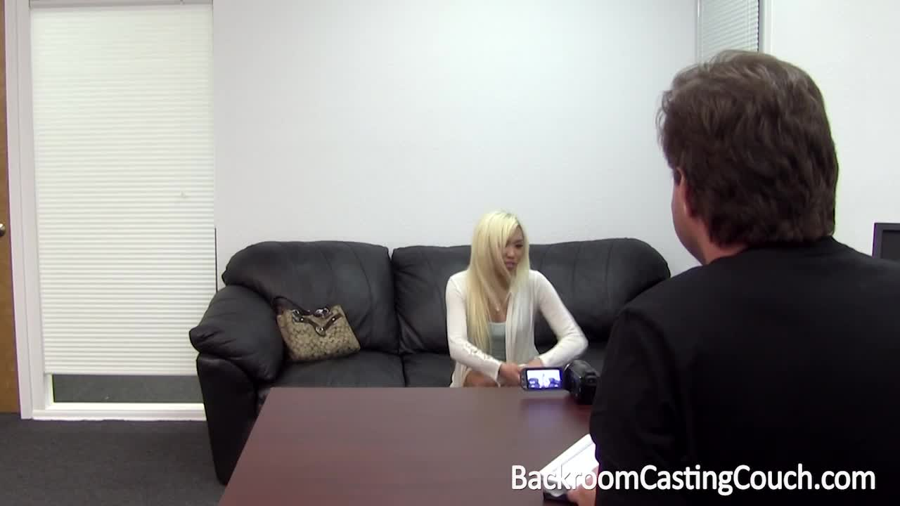 deaf girl kim on backroom casting couch video - porn portal